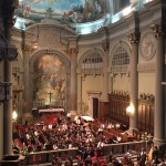 Vác Cathedral, Budapest.  An emotional but uplifting end to HCYO's final concert - 27 July 2016
