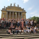HCYO outside Eger Basilica
