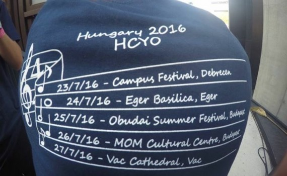 Tour t-shirts