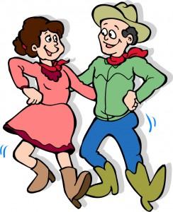Barn dance cartoon